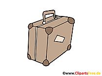 旅行スーツケース画像、クリップアート、イラスト、グラフィック、無料で描く