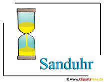 Sanduhr Clipart free