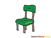 椅子、家具のクリップアート、画像、イラスト