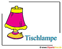 Tischlampe Clipart free
