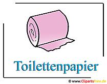 Toilettenpapier_Bild_Clipart_free
