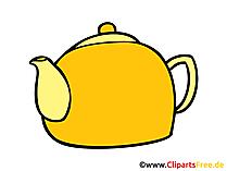 Wassrkocher Bild, Clipart, Illustration, Grafik, Zeichnung kostenlos