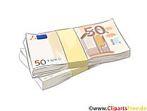 50ユーロ紙幣のクリップアート、写真、グラフィック
