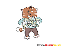 Anleger, Finanzmarkt Clip Art, Bild, Cartoon, Comic, Illustration, Grafik kostenlos