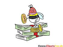 Clipart bankbiljetten