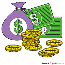 Clipart royalty gratis geld en financiën