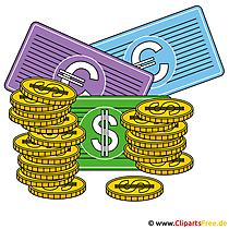 Cliparts geld