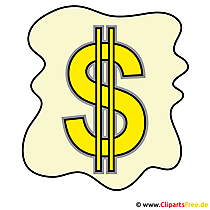Dollarzeichen Clipart