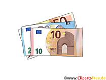 ユーロ紙幣のイラスト、写真、グラフィック