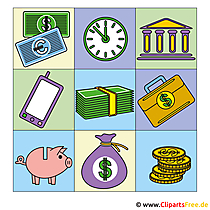 Finanzen Bilder-Clipart