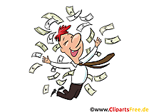 Finanzexperte Clip Art, Bild, Cartoon, Comic, Illustration, Grafik kostenlos