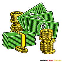 Geld cliparts gratis