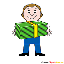 Geld Cliparts kostenfrei zum Herunterladen