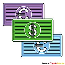 Geldscheine Bilder für Präsentationen
