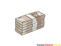 Lots of Coal, Money Clipart Picture
