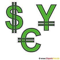 Währungen Bilder kostenlos