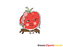 Cartoon Tomate