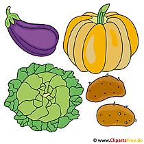 Clipart Gemüse gratis