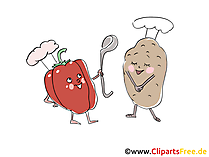 Groente Clip Art, Illustratie, Afbeelding, Cartoon