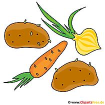 野菜のクリップアート