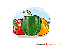 Peper Illustratie, Afbeelding, Cartoon, Clipart