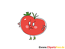 Tomate Clip Art, Illustration, Bild, Cartoon