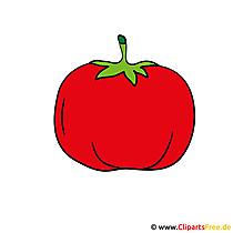 トマトのクリップアート画像グラフィック