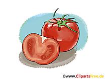 Tomaten Clipart, Bild, Illustration