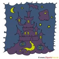 城のクリップアート