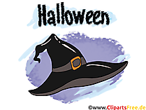 Clipart sihirbazı cadı şapkası - çizimler, resimler, grafikler, küçük resim, çizgi roman, Cadılar Bayramı için çizgi film