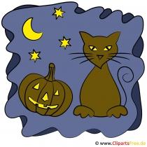 Clipart zu Halloween dewnload kostenlos