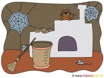 Cadı evi resmi