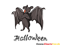 Fledermaus Clipart - Illustrationen, Bilder, Grafiken, Cliparts, Comics, Cartoons zu Halloween
