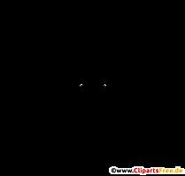 Chauve-souris PNG graphique transparent