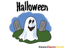 Hayalet küçük resim, resim, illüstrasyon, grafik, Cadılar Bayramı için kart