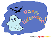 Ghost Clipart na Halloween