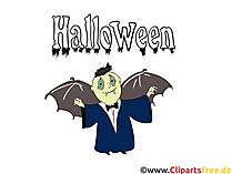 Graf Dracula Comic - Cliparts, Bilder, Grusskarten, Vorlagen für Einladungen