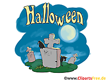 Grüsse zu Halloween - Illustrationen, Bilder, Grafiken, Cliparts, Comics, Cartoons