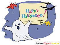 幽霊とハロウィーンへの挨拶