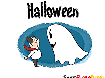 幽霊 -  CLipart、絵、漫画とハロウィーンの招待状