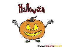 Halloween Ideen - Vorlagen für Einladungen, Grusskarten