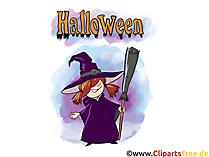 Halloween Karten - Cliparts, Bilder, Grusskarten, Vorlagen für Einladungen