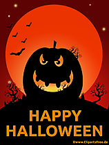 Halloween græskar clipart