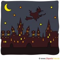 Cadılar Bayramı için cadı resimleri
