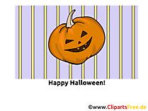 Cadılar Bayramı için kabak karikatür