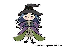 Lustige Bilder Walpurgisnacht - Kleine Hexe
