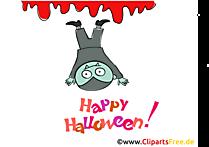 Komik vampir clipart, resim, Cadılar Bayramı'nda çizgi film