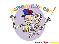 İskelet Clipart, resim, Cadılar Bayramı için karikatür