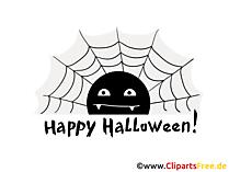 クモの巣クリップアート、画像、ハロウィーンの漫画