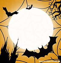 Modèle de carte de voeux Halloween